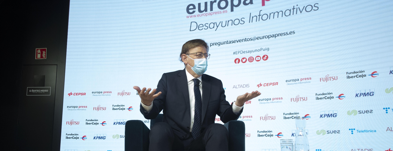 Ximo Puig exige a Pedro Sánchez que obligue a Madrid a aportar más dinero para el resto de autonomías