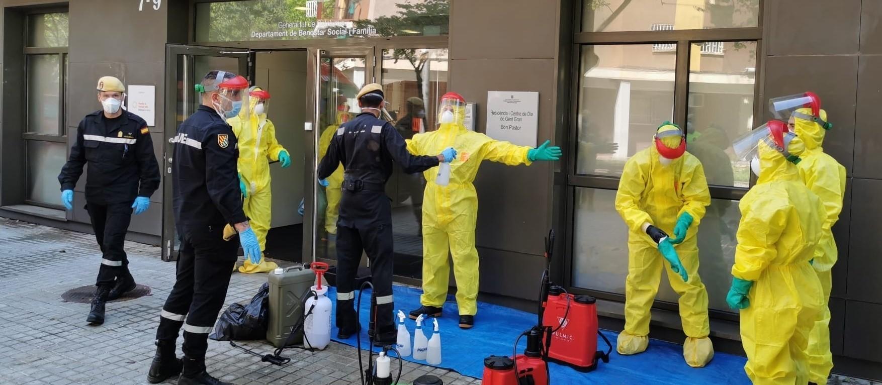 """Cuarenta euros paga Defensa a cada militar por su """"ejemplar respuesta"""" durante la pandemia"""