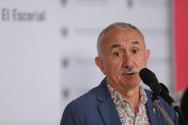 Pepe Álvarez (UGT) incide en que ampliar la vida laboral no está en la agenda de la reforma de las pensiones